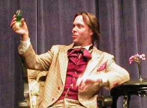 Oscar Wilde absinthe drinker